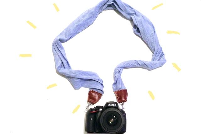 Diy camera band