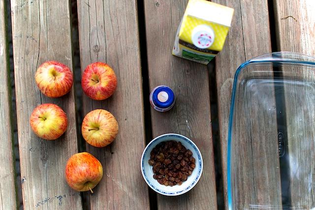 Appels met vanillevla, recept