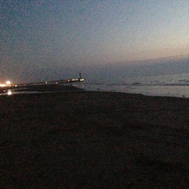 's avonds zwemmen Scheveningen