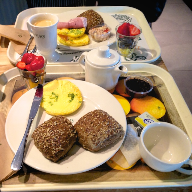 La Place ontbijten
