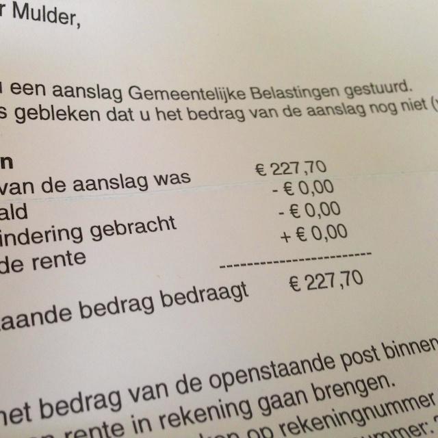 gemeentelijke belasting