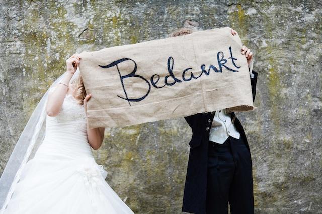 Bruiloft: jute beschrijven