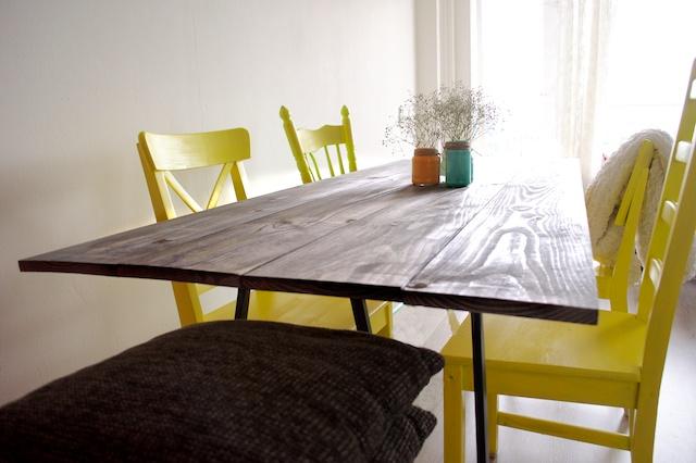 Zelf tafel maken
