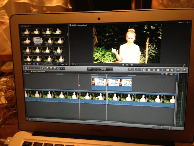 filmpje monteren, filmpje maken, blogfilmpje maken