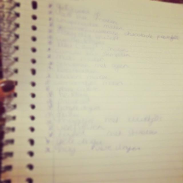 Dear Diary september #3