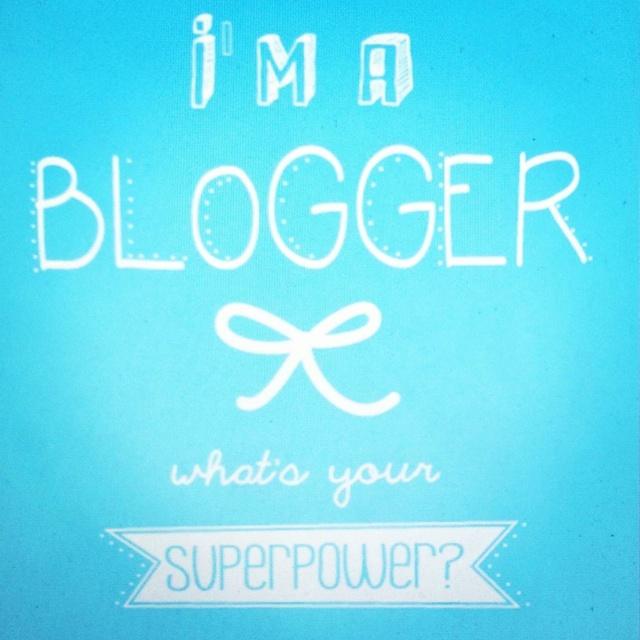 im a blogger