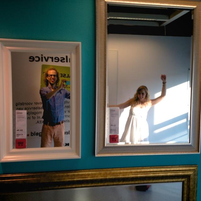 Spiegelmuur IKEA