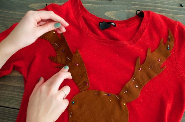 Maak je eigen Rudolf trui