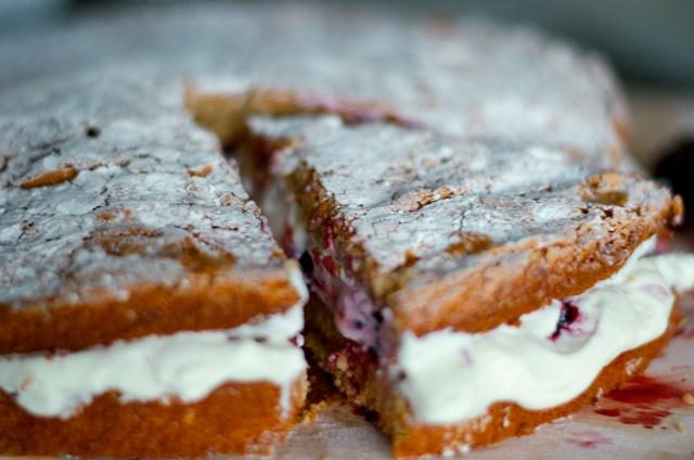 kaneeltaart, taart bakken, snelle taart maken,