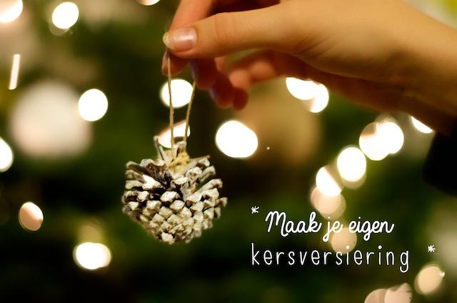 Maak je eigen kerstversiering in een handomdraai. Volg deze stappen!