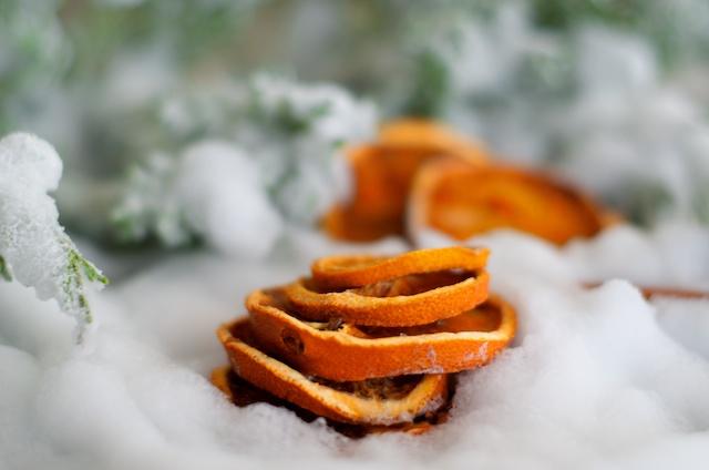 sinaasappels drogen, fruit drogen