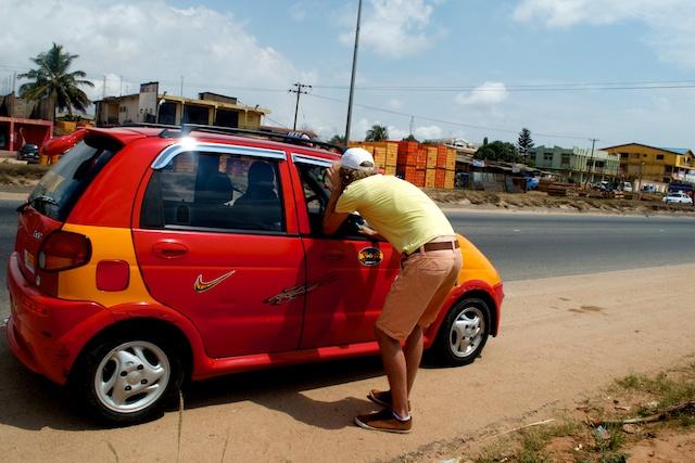 De ontdekking van Ghana