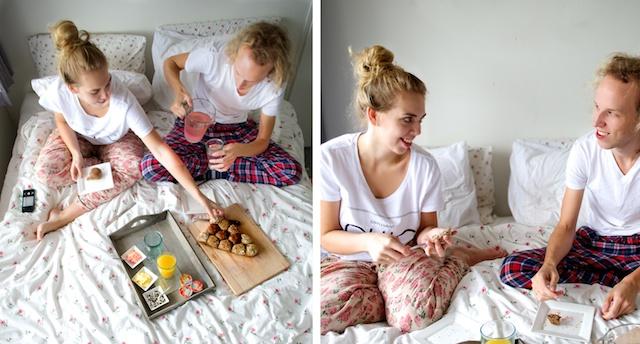 leuke dates, goedkope dates, ontbijten in bed, leuke date ideeën, date thuis idee, date idee tips