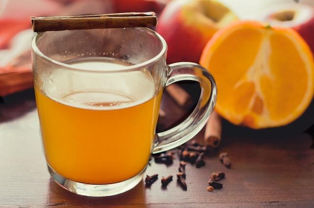 hot spiced appelcider recept, winters drankje, kerstdrankje, drankje voor ziekte