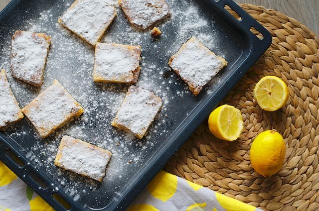 lemon bars recept, citroenrepen recept, lekkere koekjes recept