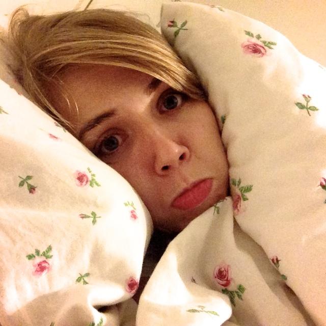 ziek, ziek in bed, wat te doen ziek