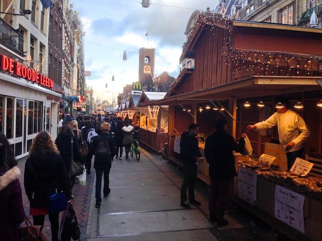 kerstmarkt Amersterdam
