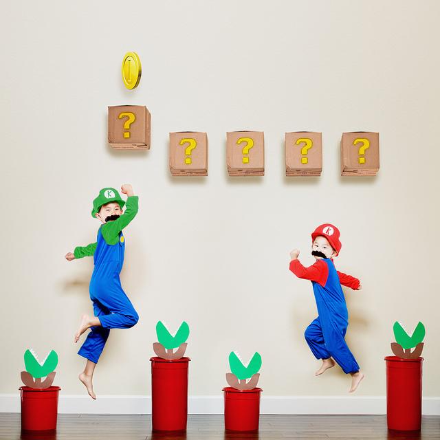 kunst, leuke kinderfoto's