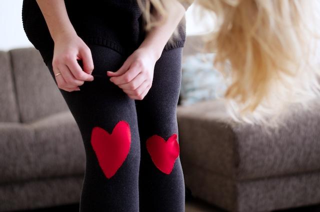 kleding voor valentijn, valentijn diy, hartjes kleding meisjes