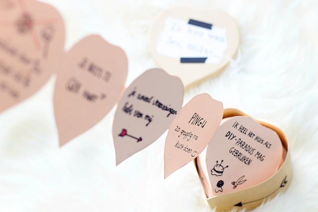 Super DIY: Doosje met liefdesbriefjes | A Cup of Life &JF25