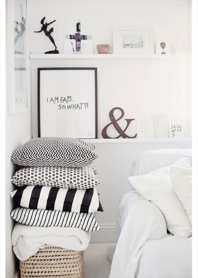 slaapkamer scandinavisch, slaapkamer deens, witte slaapkamer