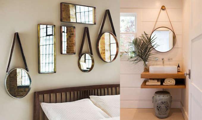 Badkamer inspiratie: spiegels
