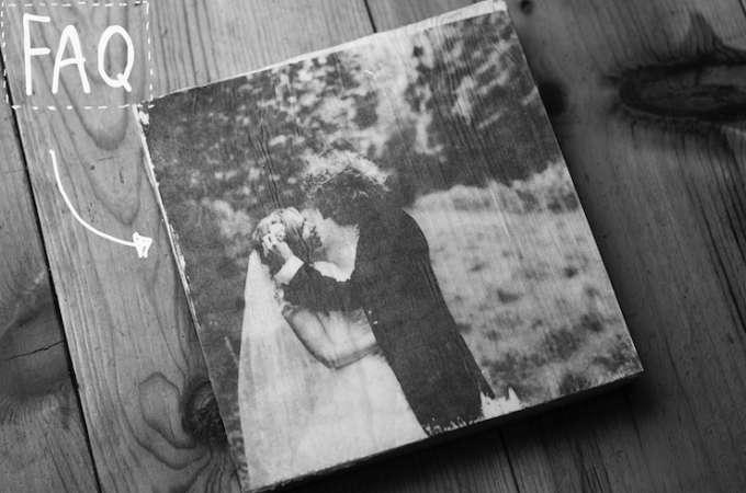 Hoe druk je foto's op hout af?