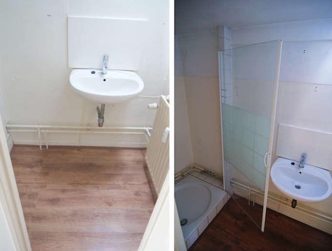 Mijn huidige badkamer
