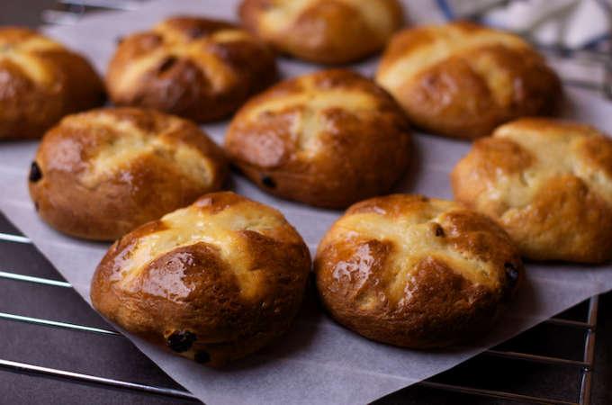 Recept Hot Cross Bun