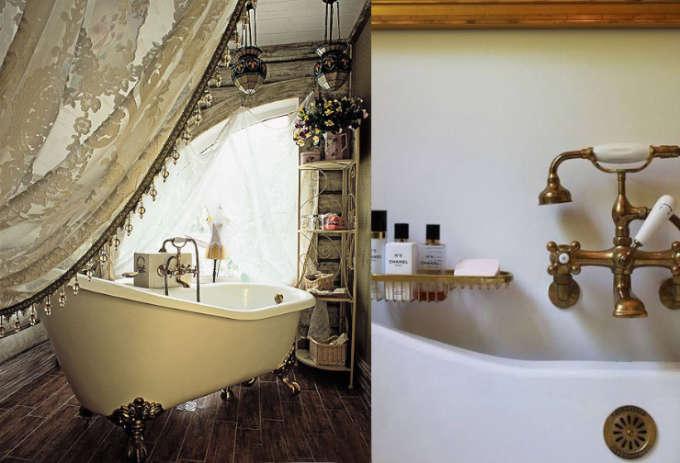 Badkamer inspiratie: vintage baden!