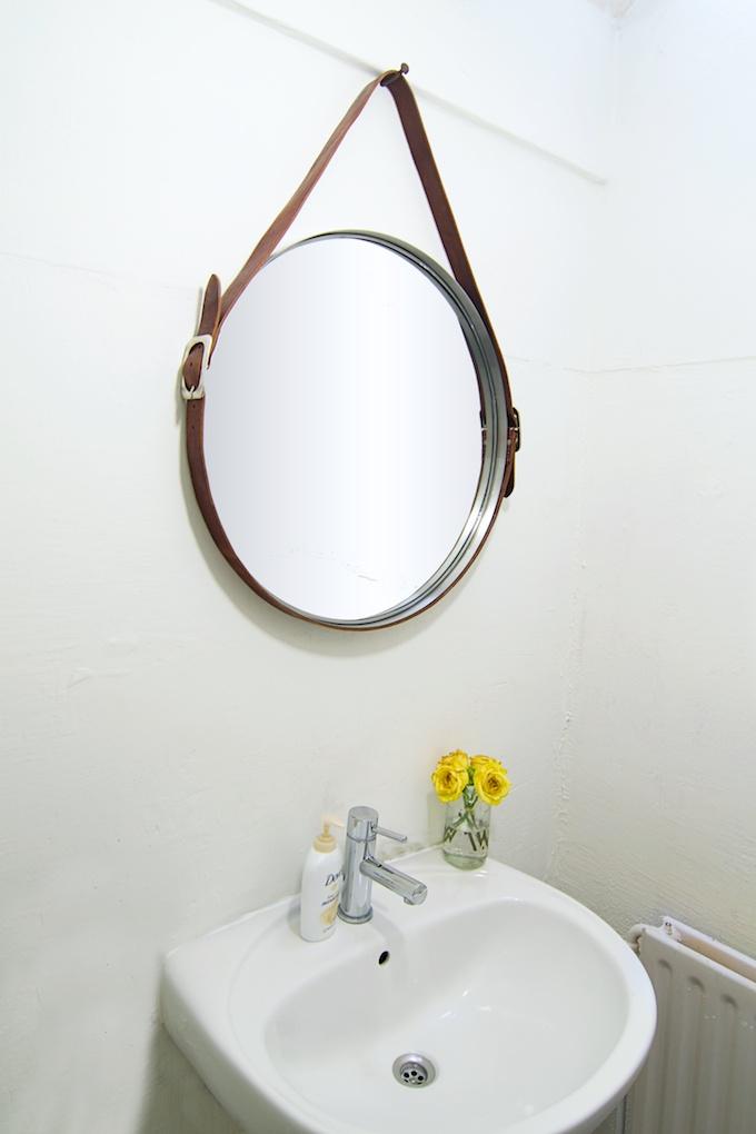 zelfmaken deze vintage spiegel vriendinnenonline waar. Black Bedroom Furniture Sets. Home Design Ideas