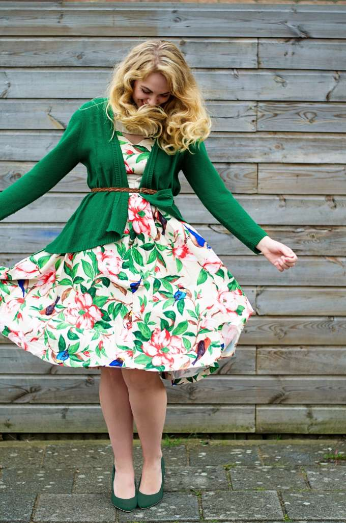 herfst outfit top vintage