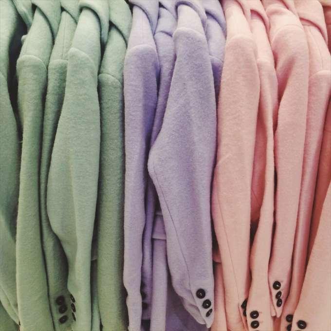 pastelkleur jassen
