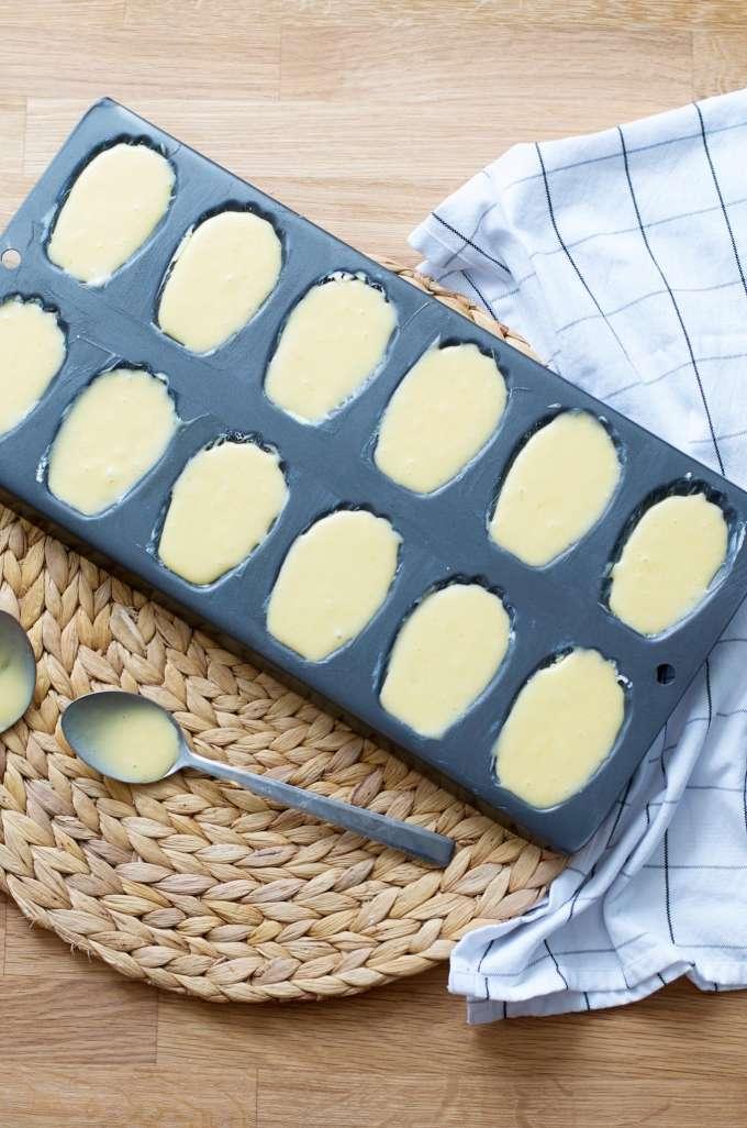 Recept voor madeleines (2)