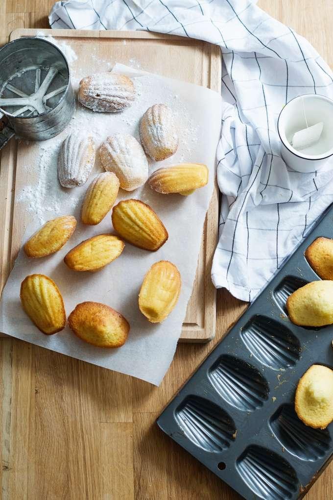 Recept voor madeleines (5)