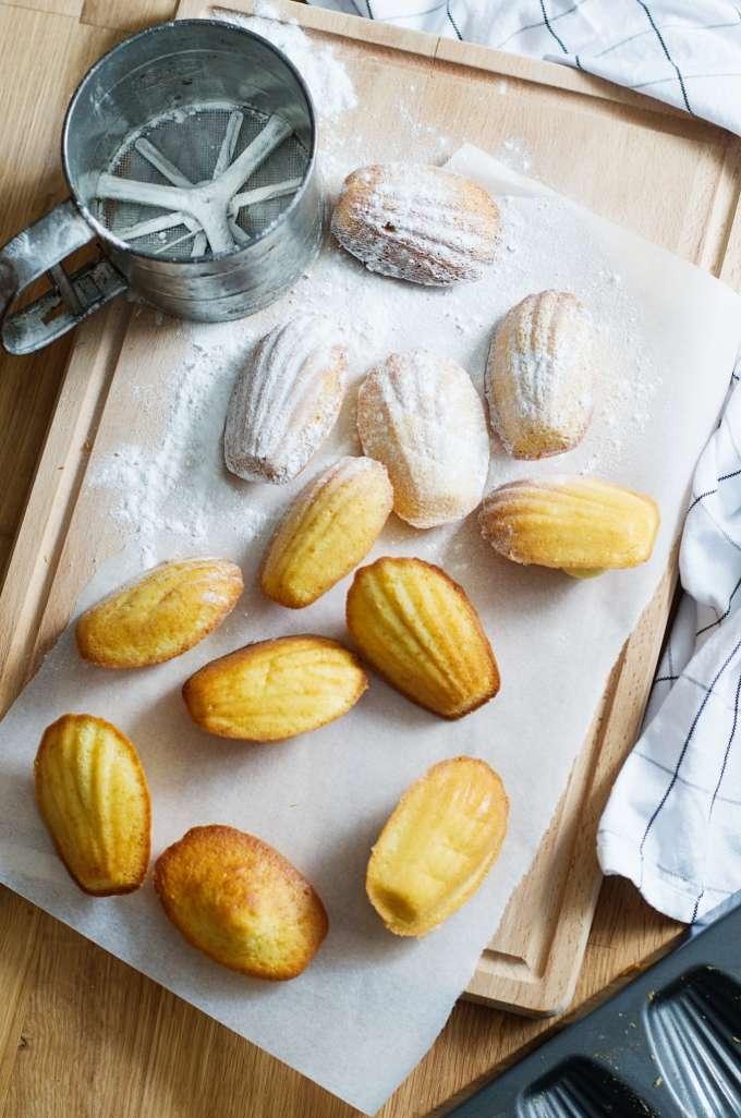 Recept voor madeleines