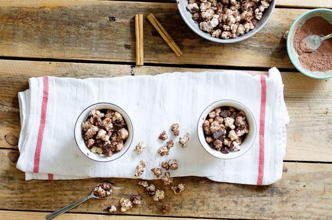 zelf popcorn poffen, gezonde popcorn, gezonde snack, gezond tussendoortje