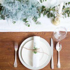 kersttafel stylen, kersttafel dekken, ideeën voor de kersttafel, kersttafel leuk dekken, tafel dekken, tafel stylen, hoe style je eettafel