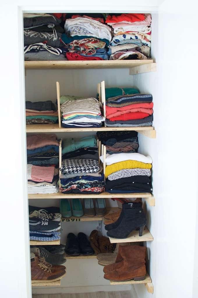 Mijn kledingkast uitzoeken