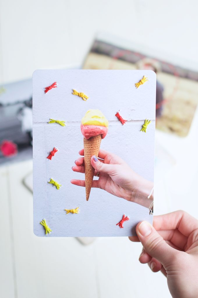Borduur je kaarten met deze tutorial.