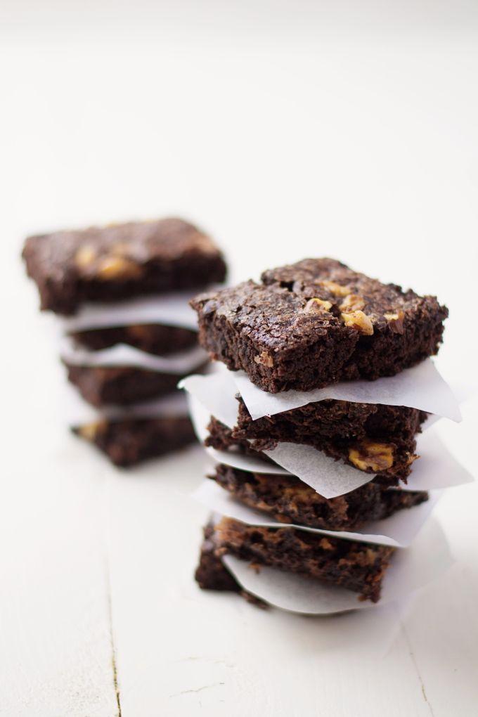 gezonde brownie recept, gezonde brownies,