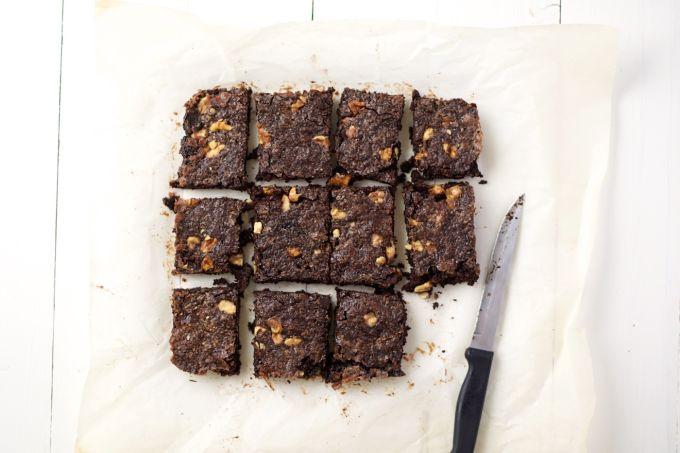 Triple chocolate brownies (met minder vet!)