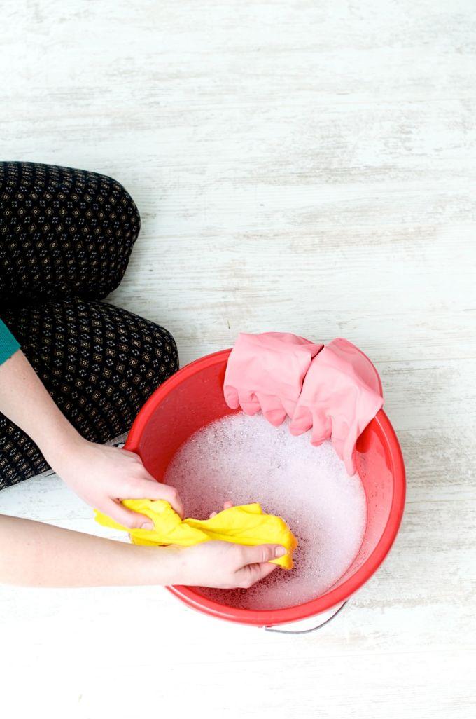 hoe maak je een schoonmaakrooster, schoonmaakplanning maken, huishouden planning