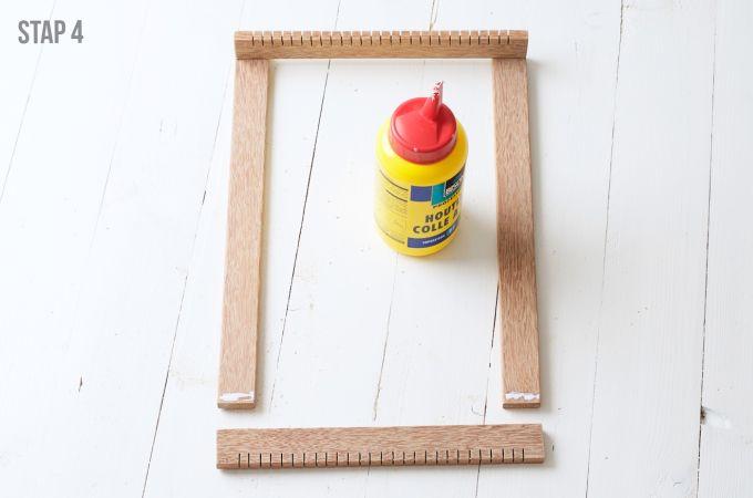 Hoe maak je een weefrek (4)