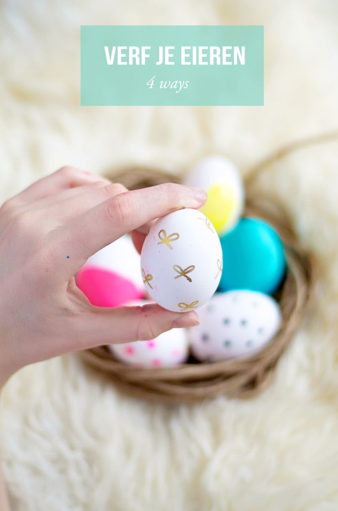 Verf je eieren creatief 4 manieren (12)