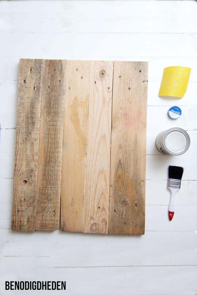 Hoe maak je hout oud, hout verweren