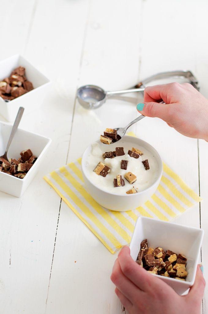 Frozen yoghurt met chocolade (13)