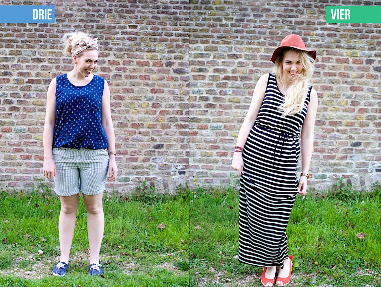 Zes outfit met zes kledingstukken (3)