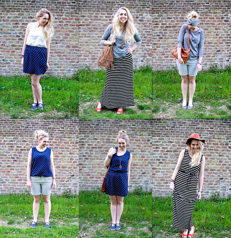 Zes outfit met zes kledingstukken (4)