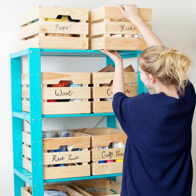 Maak dit: een opslagplek voor craftspullen
